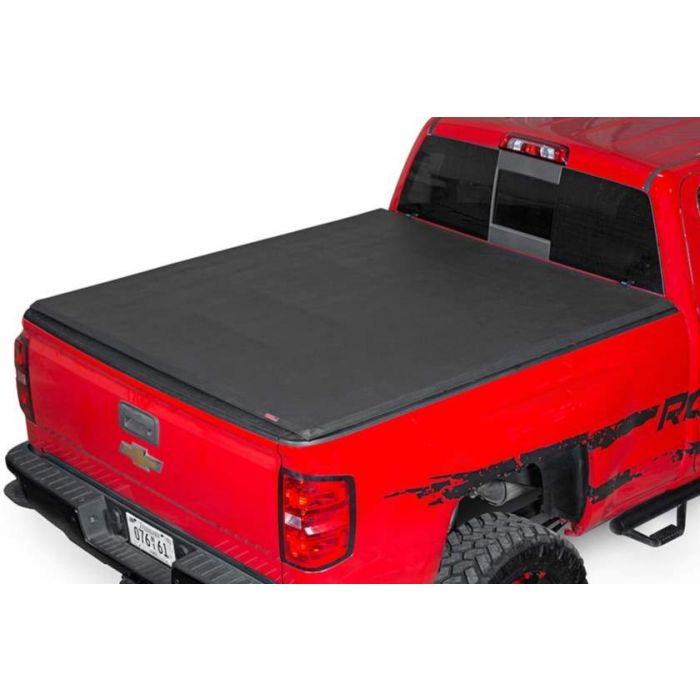 Rough Country Soft Tri Fold Tonneau Cover Dodge Ram 1500 5 5 Ft Bed 2009 2010 2011 2012 2013 2014 2015 2016 2017 2018